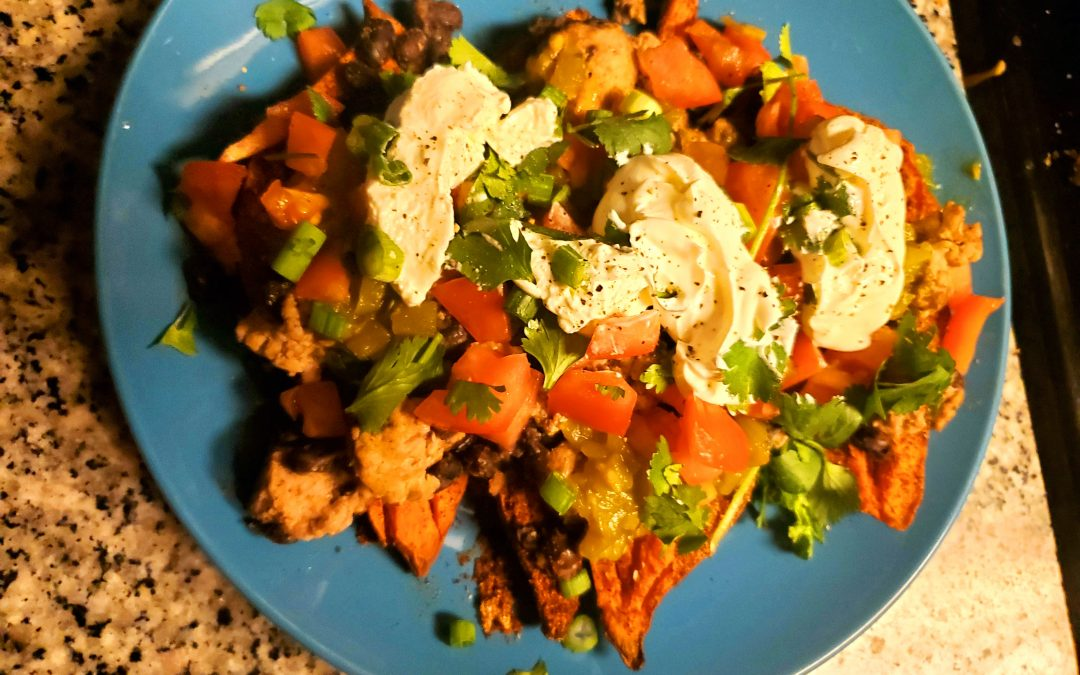 Try A New Recipe Tuesday: Taco Stuffed Sweet Potatoes