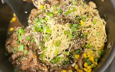 Try A New Recipe Tuesday: Skillet Beef and Broccoli Ramen