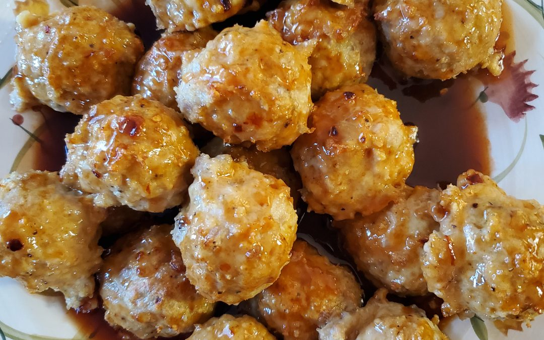 Try A New Recipe Tuesday: Firecracker Chicken Meatballs